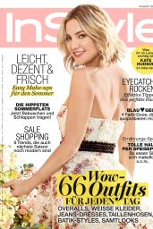 Kate Hudson - InStyle Magazine Germany August 2016 Issue