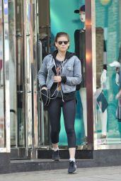 Kate Mara Shopping in London, UK 7/14/2016