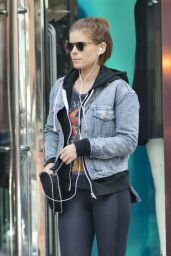 Kate Mara Shopping in London, UK 7/14/2016