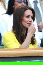 Kate Middleton - Wimbledon Tennis Championships 7/7/2016