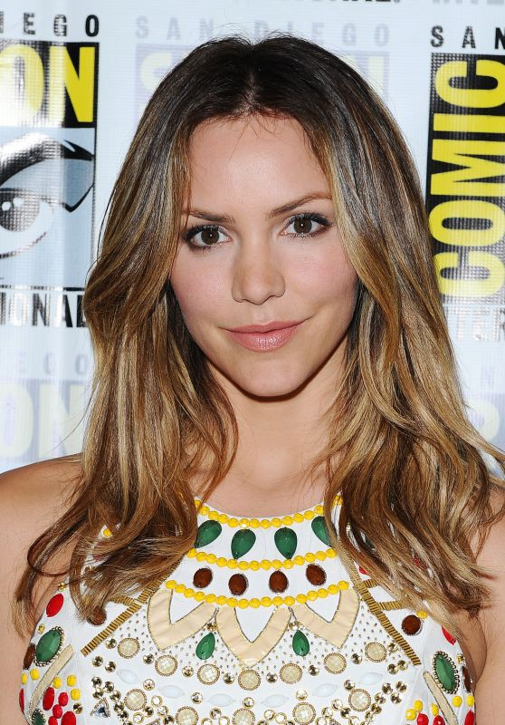 Katharine McPhee – CBS Television Studios Press Line at Comic-Con in San Diego 7/21/2016
