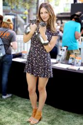 Katharine McPhee - Helping Promote the Clear The Shelters Pet Adoption Event in Los Angeles, July 2016