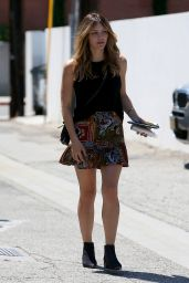 Katharine McPhee - Leaving Meche Salon in Beverly Hills 7/27/2016