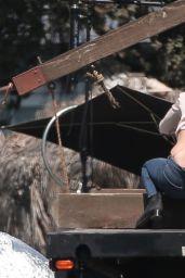 Katharine McPhee - On the Set of