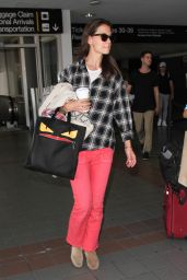 Katie Holmes at LAX Airport in Los Angeles 6/30/2016