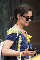 Katie Holmes - Shopping in Manhattan, NYC 7/12/2016