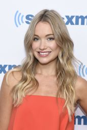 Katrina Bowden at SiriusXM Studios in New York City 7/28/2016