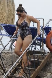 Kelly Brook in Swimsuit in Ischia, Italy 7/14/2016