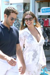 Kelly Brook - Out and About in Ischia, Italy 7/14/2016