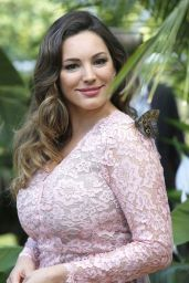Kelly Brook - RHS Hampton Court Flower Show in London 7/4/2016