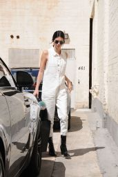 Kendall Jenner Casual Style  - Out in Los Angeles 7/2/2016