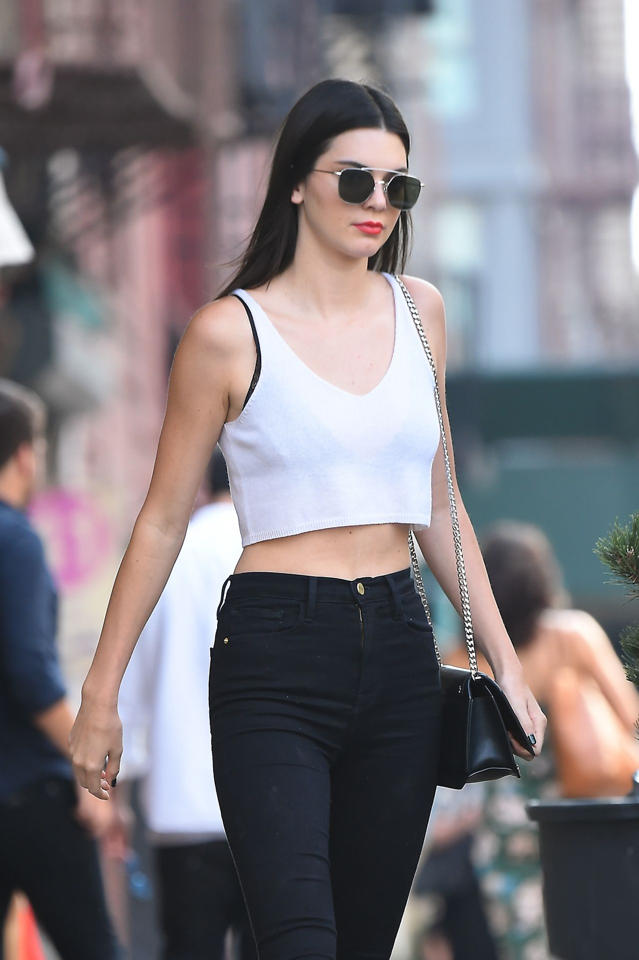 Kendall Jenner Chic Outfit Nyc 7 22 2016
