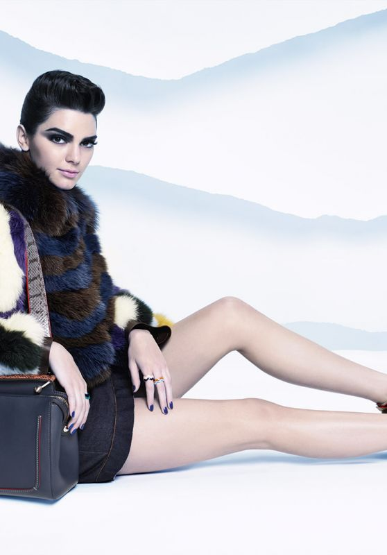 Kendall Jenner - Fendi Fall Winter Campaign 2016/2017