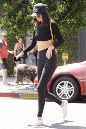 Kendall Jenner in Tights - Out in West Hollywood 7/28/2016