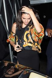 Kendall Jenner Night Out Style - Nice Guy in LA 7/28/2016