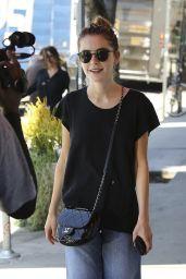Kiernan Shipka Street Style - Los Angeles, 07/19/2016