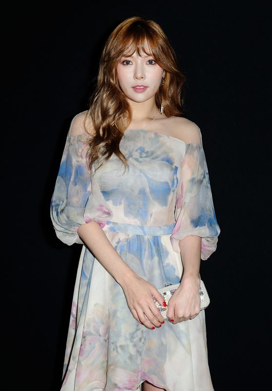 Kim Hyuna - Couturissimo Haute Couture Fall/Winter 2016/2017 Show - Paris Fashion Week 7/3/2016