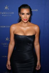 Kim Kardashian at Hakkasan Nightclub in Las Vegas 07/23/2016