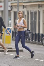 Kimberley Garner in Spandex - Out in London, June 2016
