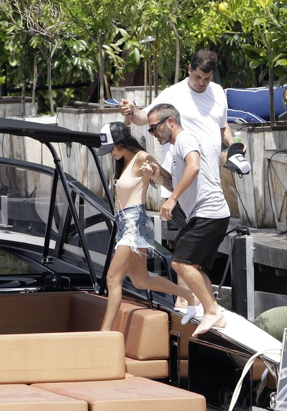 Kourtney Kardashian - On a Boat Trip in Miami 7/3/2016