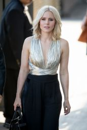 Kristen Bell Arriving to Appear on