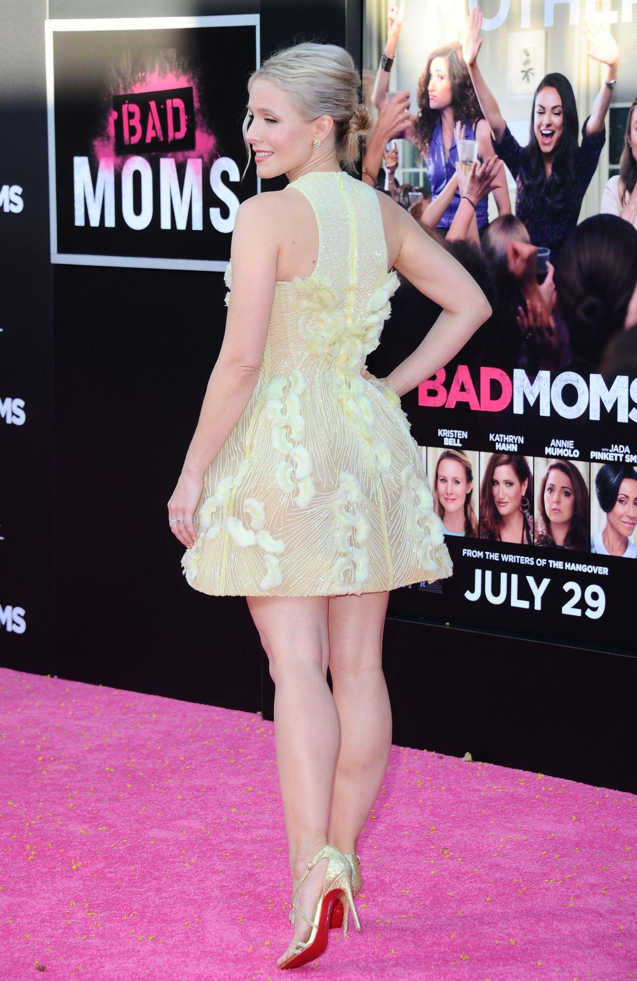 Kristen Bell Bad Moms Premiere In Los Angeles