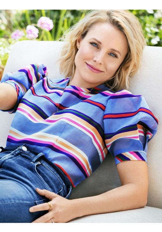 Kristen Bell - Redbook Magazine August 2016 Issue