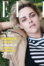 Kristen Stewart - Elle Magazine UK  September 2016 Cover