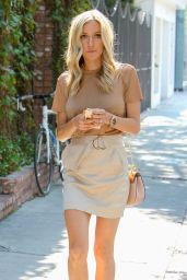 Kristin Cavallari - Heads to Fig & Olive restaurant on Melrose Place in West Hollywood, CA 7/29/2016
