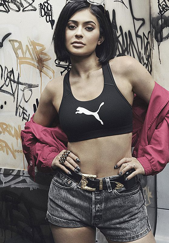Kylie Jenner - Photoshoot for Puma - July 2016