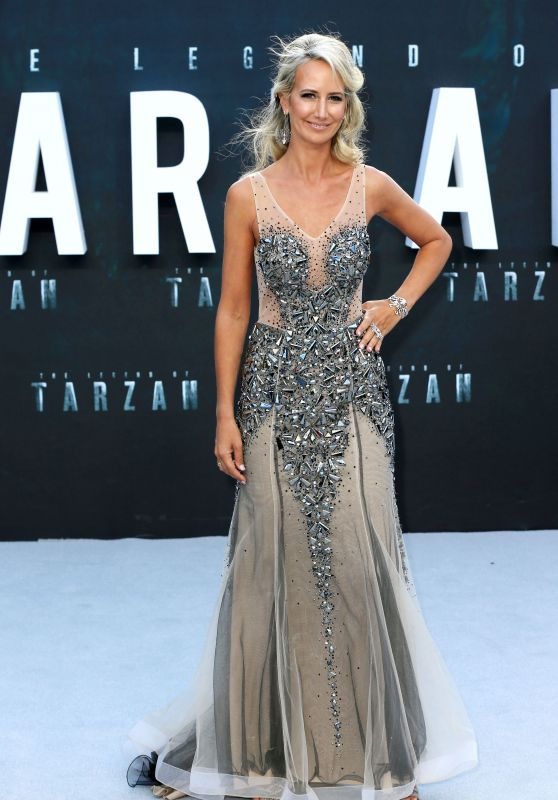 Lady Victoria Hervey – 'The Legend of Tarzan' Premiere in London