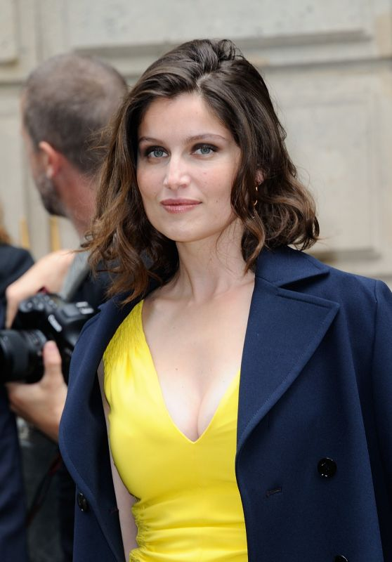 Laetitia Casta - Dior Haute Couture Fall/Winter 2016-2017 Show in Paris 7/4/2016