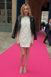 Laura Carmichael - Schiaparelli Haute Couture Fall/Winter 2016-2017 Show in Paris 7/4/2016