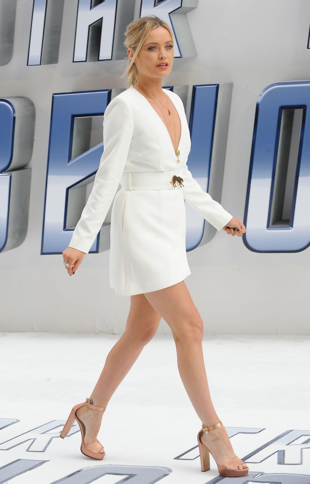 Laura Whitmore Star Trek Beyond Premiere In London