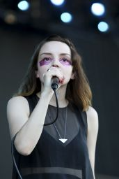 Lauren Mayberry – Performs at 2016 Bonnaroo Music Fest in Manchester, Tennessee