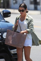 Lea Michele Style - Shopping in LA 7/25/2016