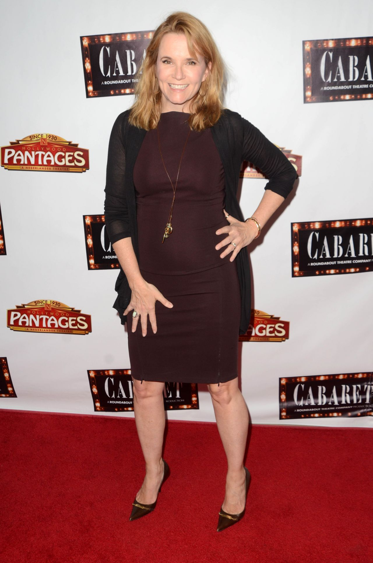 Lea Thompson Opening Of Cabaret In Hollywood 7 20 2016