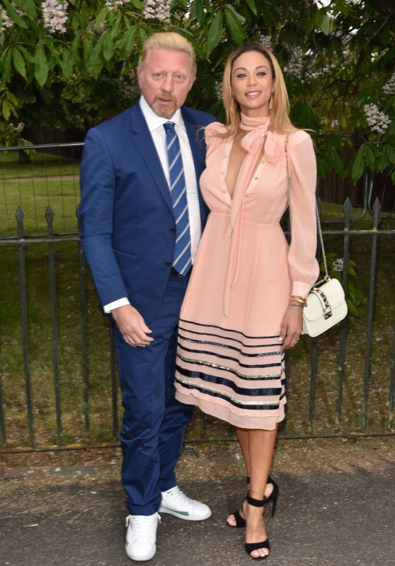Lilly and Boris Becker - Serpentine Gallery Summer Party in London 7/6/2016