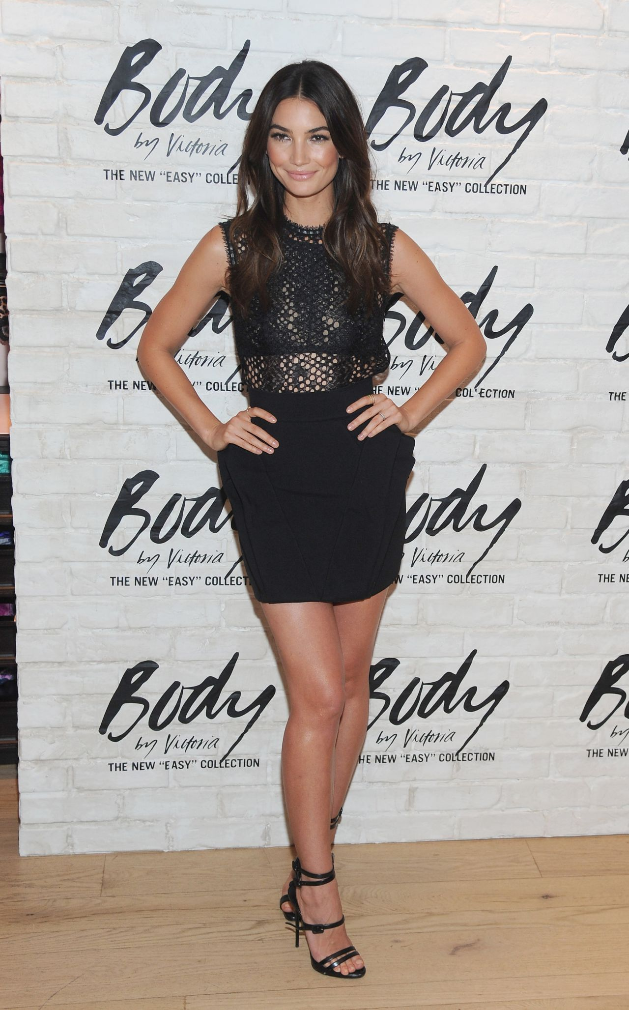 Lily Aldridge Launch Of The Body By Victoria The Easy