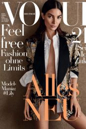 Lily Aldridge - Vogue Magazine Germany August 2016 Issue