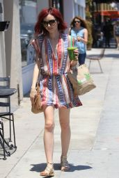 Lily Collins - Out in Beverly Hills 7/1/2016
