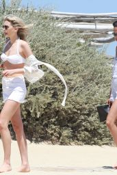 Lily Donaldson - Club 55 in Saint Tropez, France 7/19/2016