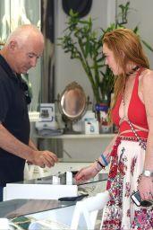 Lindsay Lohan Summer Style Out In Mykonos Greece 7 5 2016