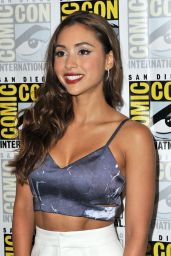 Lindsey Morgan - 'The 100' Press Line at Comic-Con International in San Diego 7/22/2016