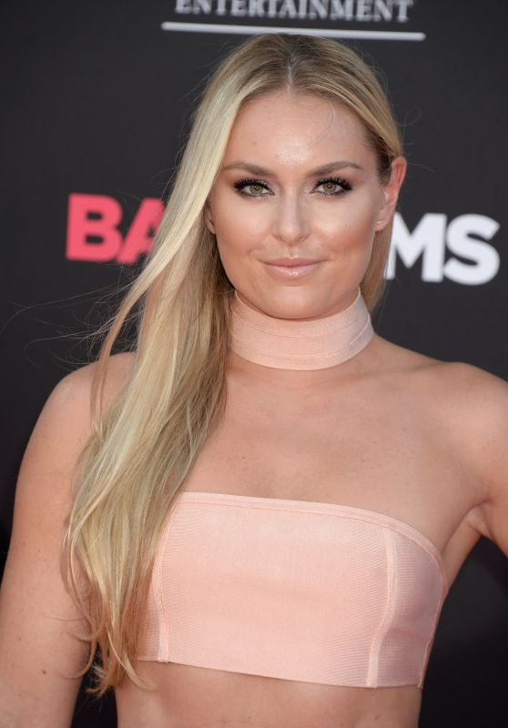 Lindsey Vonn – 'Bad Moms' Premiere in Los Angeles