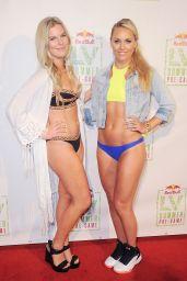 Lindsey Vonn Bikini Pics - Lindsey Vonn Summer Pre-Game Pool Party, July 2016