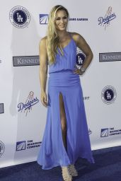 Lindsey Vonn - LA Dodgers Foundation Blue Diamond Gala in Los Angeles 7/28/2016