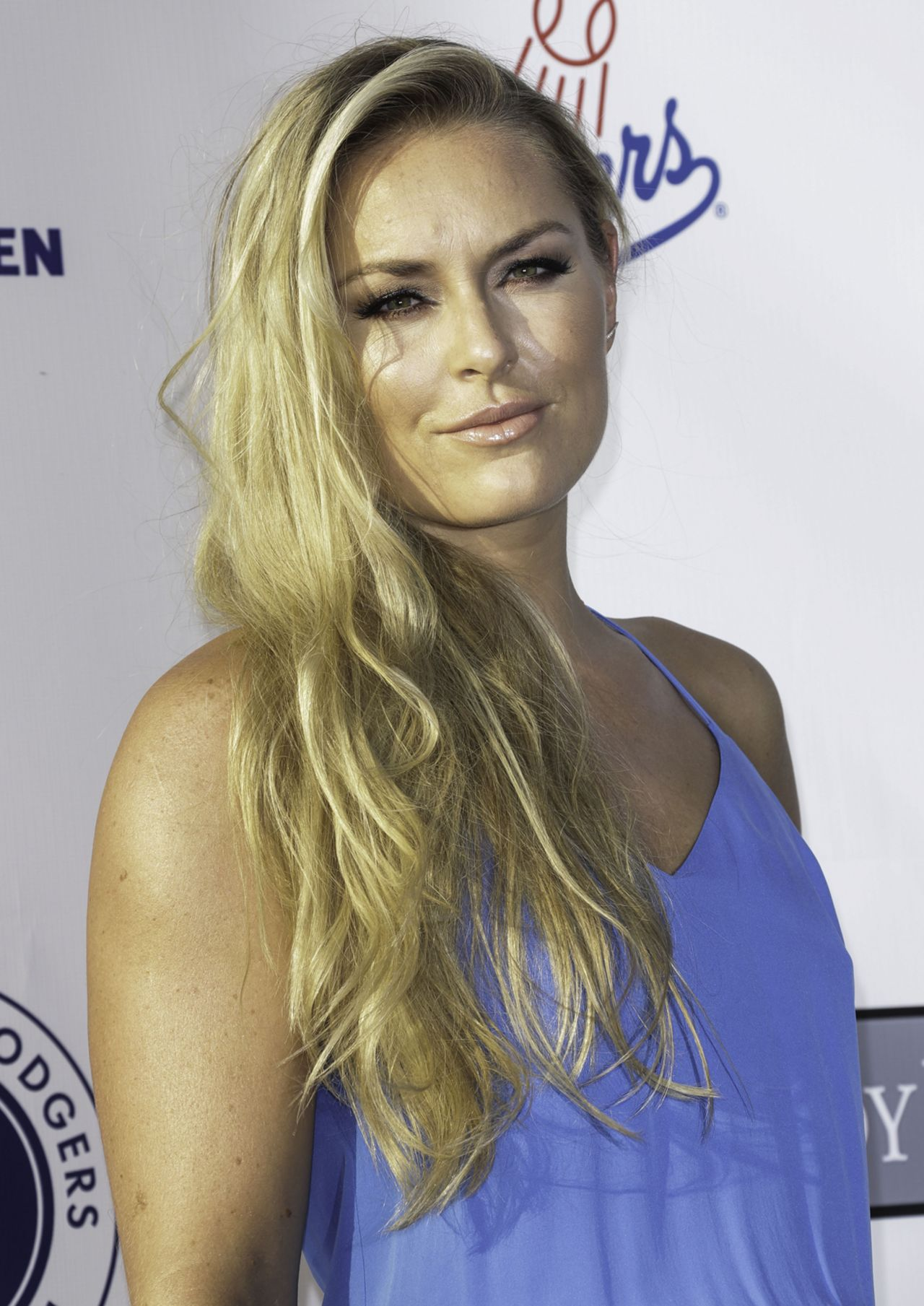 Lindsey Vonn La Dodgers Foundation Blue Diamond Gala In