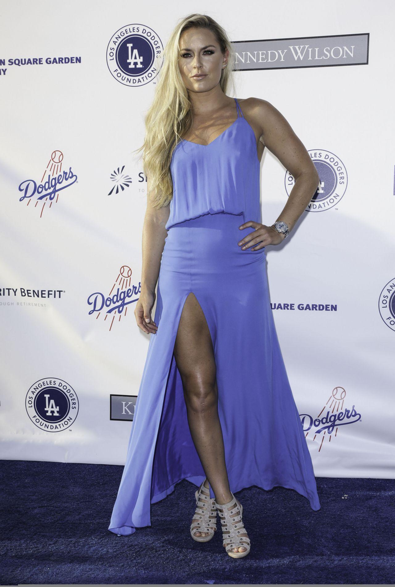 Lindsey Vonn - LA Dodgers Foundation Blue Diamond Gala in Los Angeles 7/28/2016