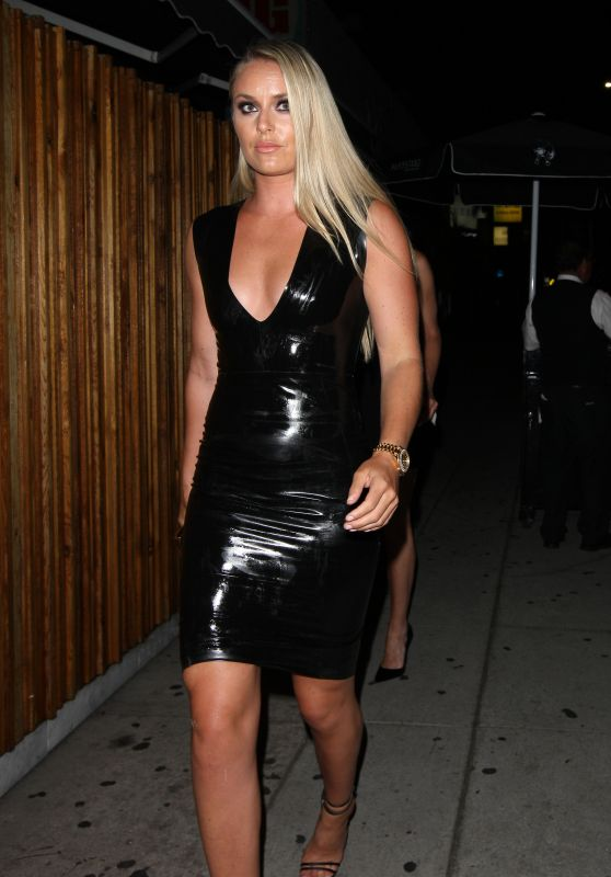 Lindsey Vonn Night Out Style - Nice Guy in West Hollywood ...